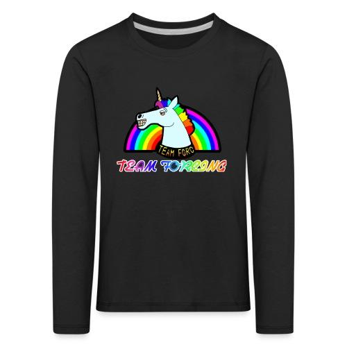 Logo officiel de la team forcing - T-shirt manches longues Premium Enfant