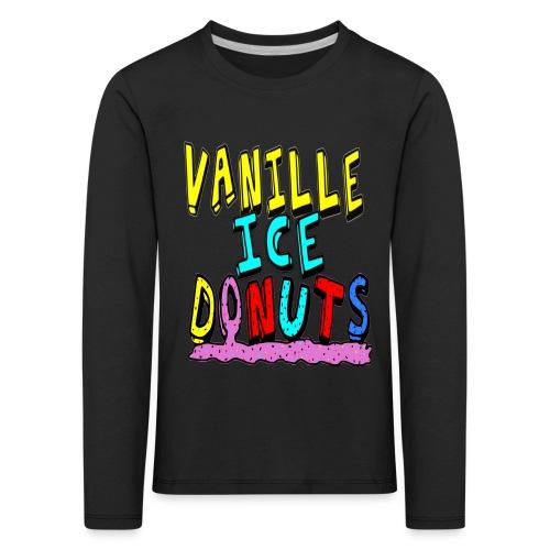 vanille eis donuts - Kinder Premium Langarmshirt
