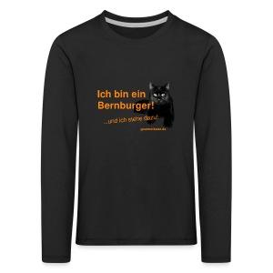 Statement Bernburg - Kinder Premium Langarmshirt