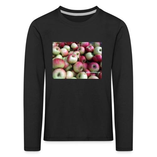 Äpfel - Kinder Premium Langarmshirt