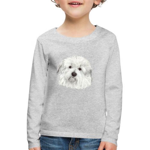 coton-de-tulear - Børne premium T-shirt med lange ærmer