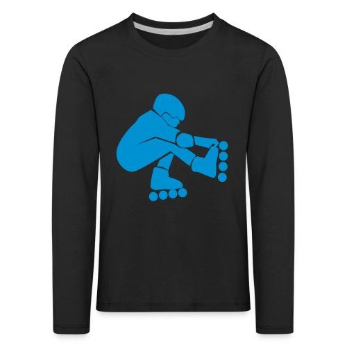 roller lois tee shirt - T-shirt manches longues Premium Enfant