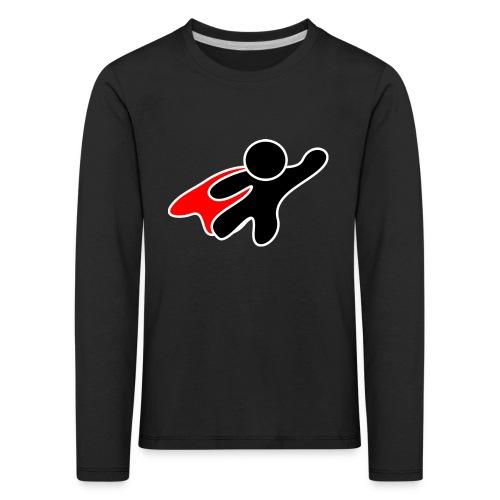 Stickman-Hero - Kinder Premium Langarmshirt