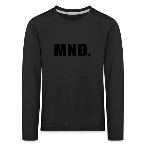 MND. - Kinderen Premium shirt met lange mouwen