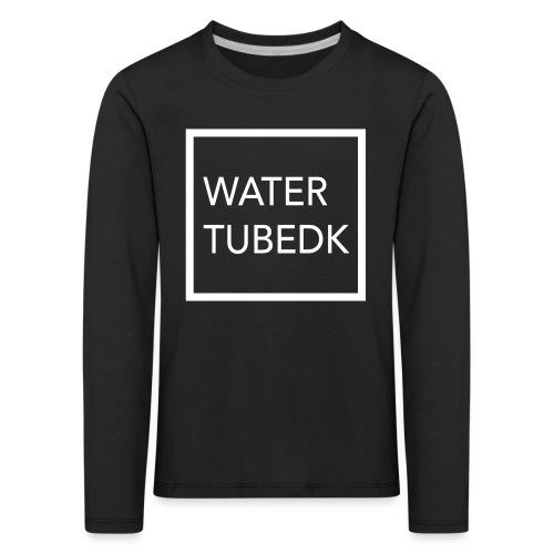 water tubedk - Børne premium T-shirt med lange ærmer