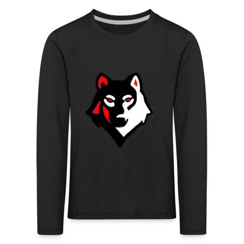 Bjerkes logo - Premium langermet T-skjorte for barn