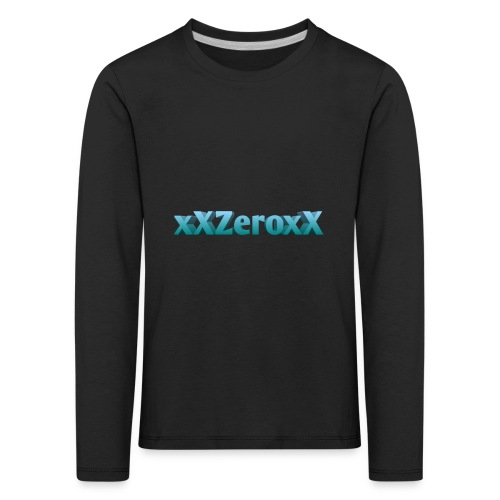 xXZeroxX Merch - Kinder Premium Langarmshirt