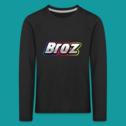 Broz - Kinderen Premium shirt met lange mouwen