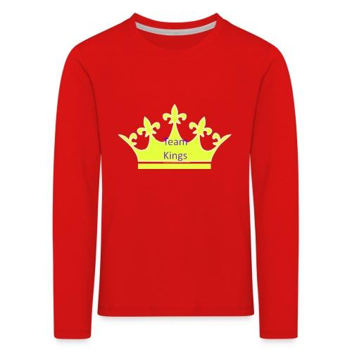 Team King Crown - Kids' Premium Longsleeve Shirt