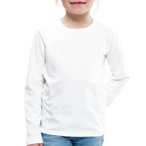 Unterschiedliche Meinung - Weiß - Kinder Premium Langarmshirt