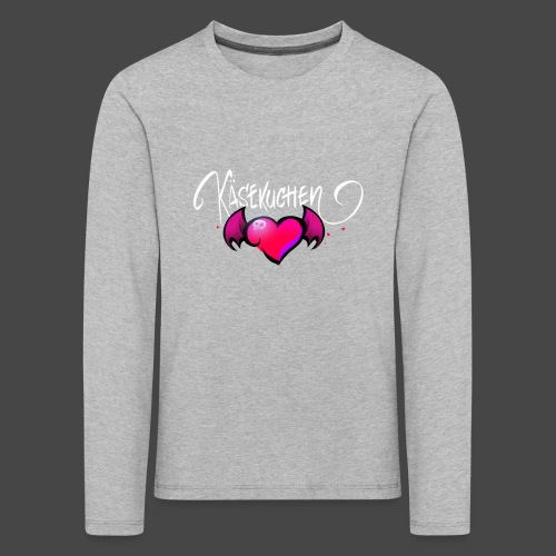 Logo and name - Kids' Premium Longsleeve Shirt