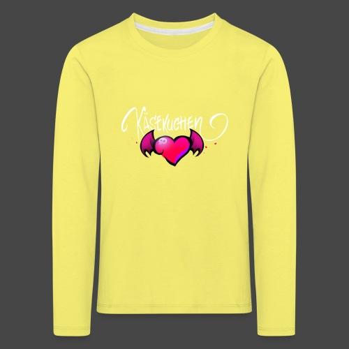 Logo and name - Kids' Premium Longsleeve Shirt
