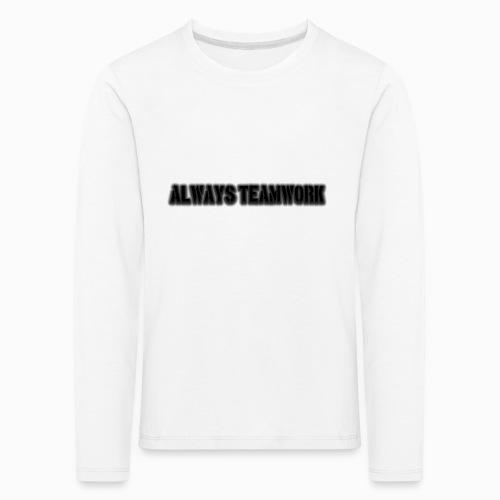 at team - Kinderen Premium shirt met lange mouwen