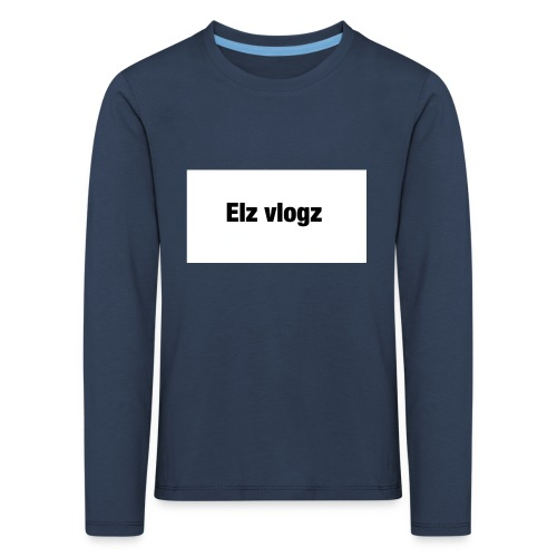 Elz vlogz merch - Kids' Premium Longsleeve Shirt