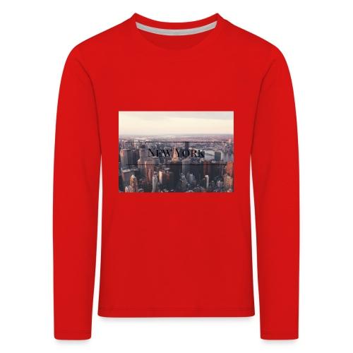 spreadshirt - T-shirt manches longues Premium Enfant