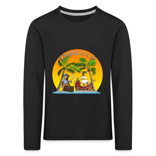 Piraten - Schatz - Kinder Premium Langarmshirt