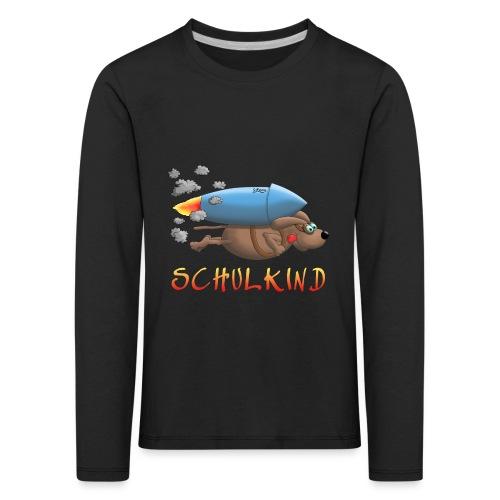 Schulkind - Kinder Premium Langarmshirt