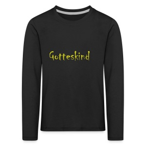 Gotteskind - Kinder Premium Langarmshirt