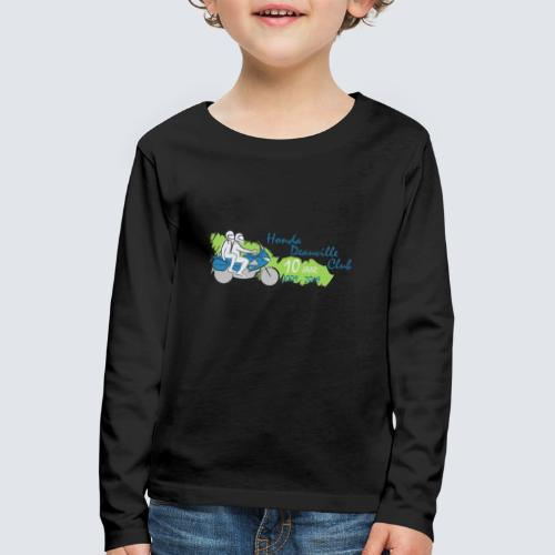 HDC jubileum logo - Kinderen Premium shirt met lange mouwen