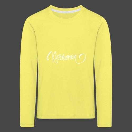 Name only - Kids' Premium Longsleeve Shirt
