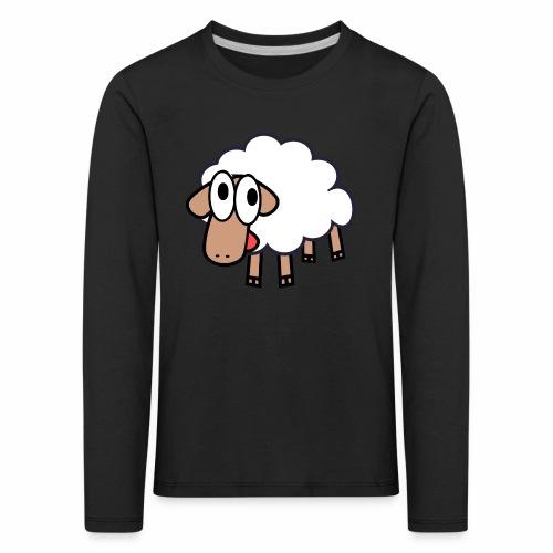 Sheep Cartoon - Kinderen Premium shirt met lange mouwen