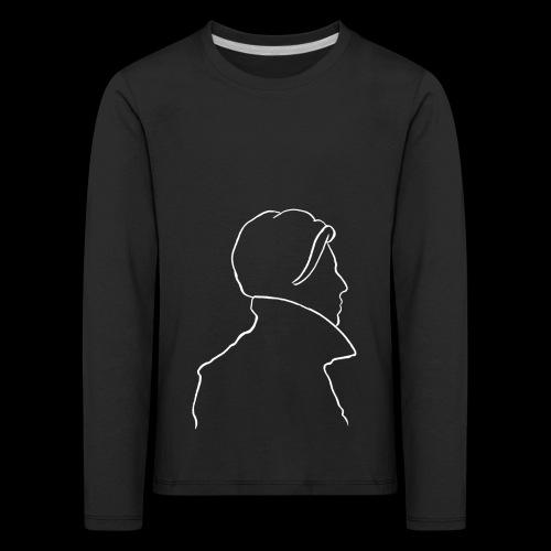 David Bowie Low (white) - Kids' Premium Longsleeve Shirt