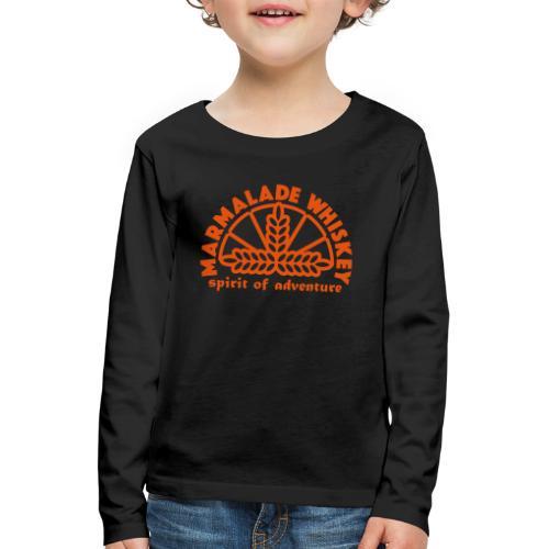 Marmalade Whiskey - Kids' Premium Longsleeve Shirt