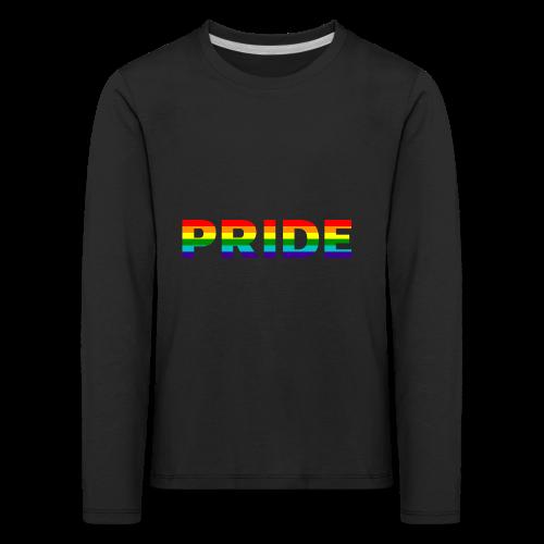 Gay pride in rainbow kleuren - Kinderen Premium shirt met lange mouwen