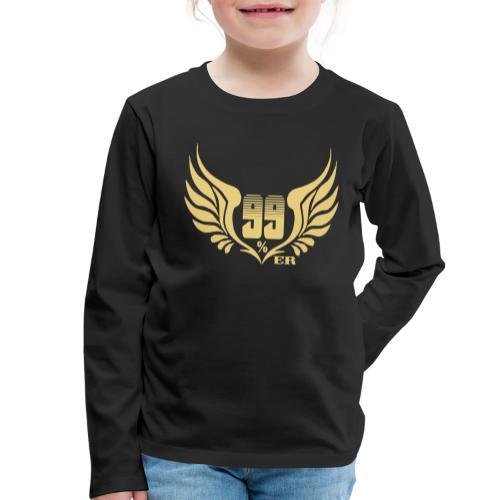 99% - Camiseta de manga larga premium niño