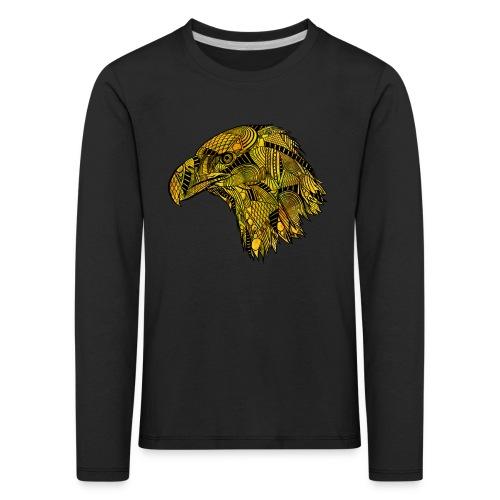 Gul ørn - Premium langermet T-skjorte for barn