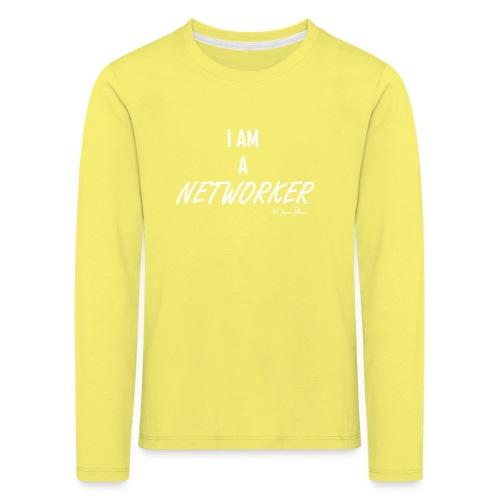 I AM A NETWORKER - T-shirt manches longues Premium Enfant