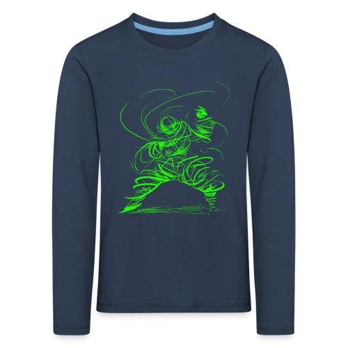 Kung Fu Sorcerer / Kung Fu Wizard - Kids' Premium Longsleeve Shirt