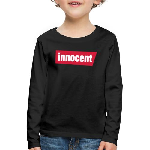 innocent - Kinder Premium Langarmshirt