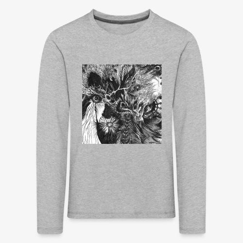 Enter the Linear Dream Square edition by Rivinoya - Lasten premium pitkähihainen t-paita