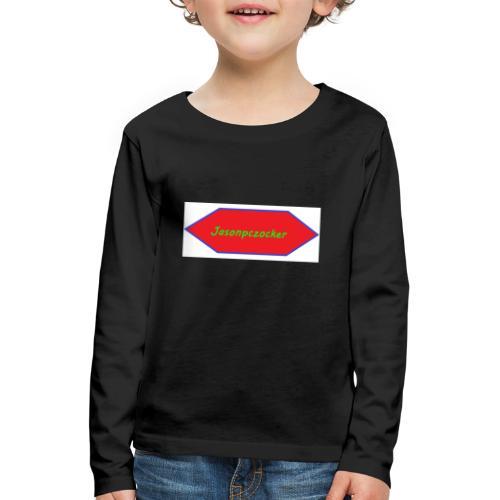 Kanalbild ohne hintergrund mit fühlung - Kinder Premium Langarmshirt