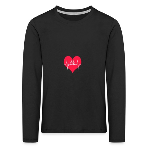 I love my Bike - Kids' Premium Longsleeve Shirt