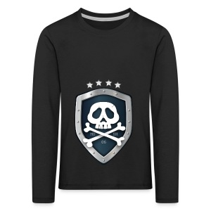champion's league skull 06 - T-shirt manches longues Premium Enfant