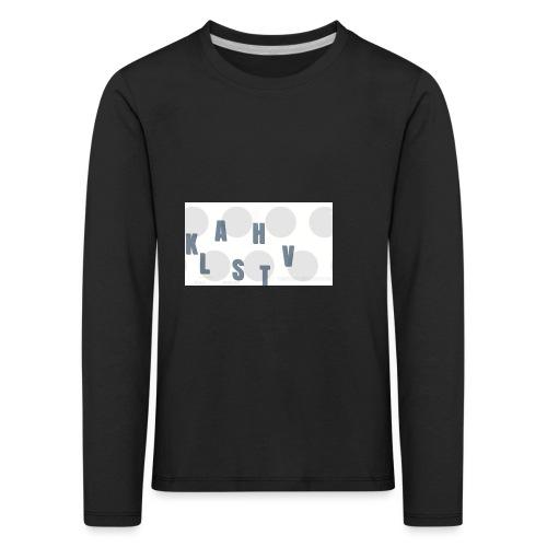 KLASHTV - Långärmad premium-T-shirt barn