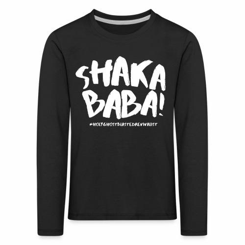 shaka - Lasten premium pitkähihainen t-paita
