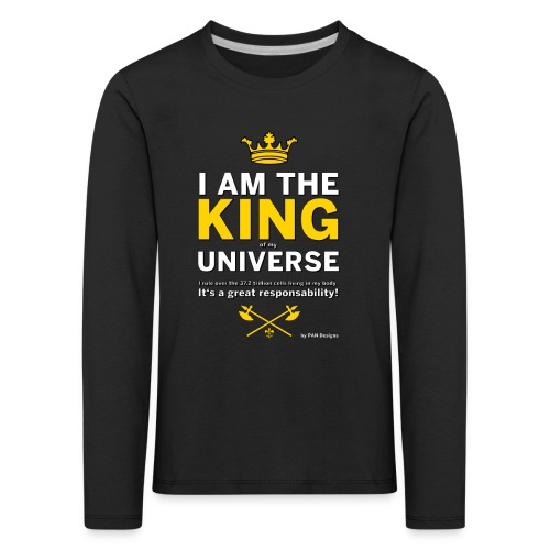 Royal King T-shirt - PAN designs - Tees & Gifts - Långärmad premium-T-shirt barn