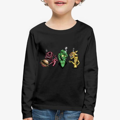 Weird communication - T-shirt manches longues Premium Enfant