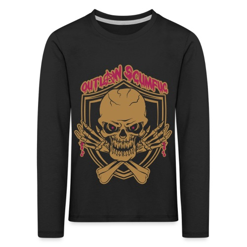 Outlaw Scumfuc - Kinder Premium Langarmshirt