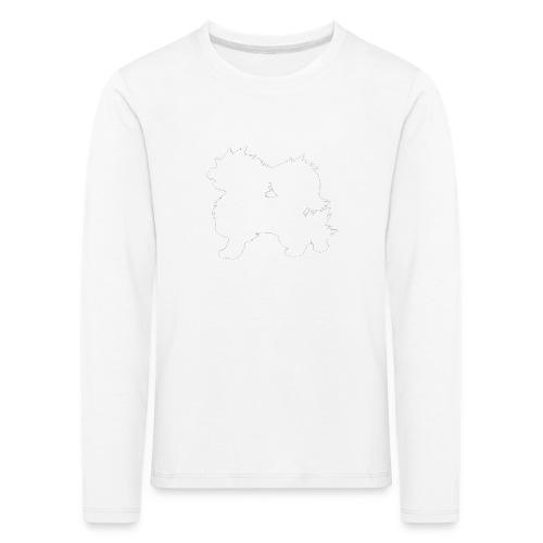 All white Arcanine Merch - T-shirt manches longues Premium Enfant
