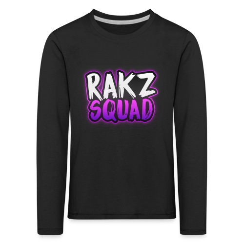 RakzSquad First Merch - Kids' Premium Longsleeve Shirt
