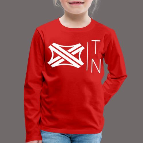 Tregion logo Small - Kids' Premium Longsleeve Shirt