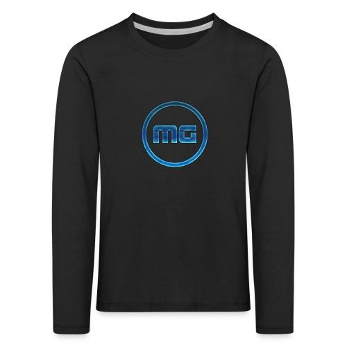 MG Blue - Kids' Premium Longsleeve Shirt
