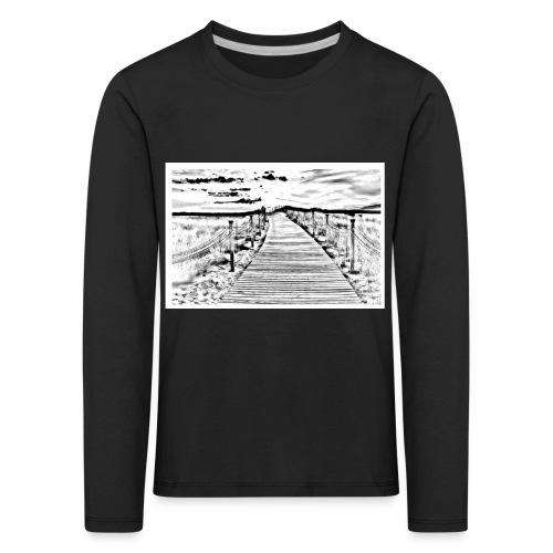 Dont judge my Journey - Kinder Premium Langarmshirt