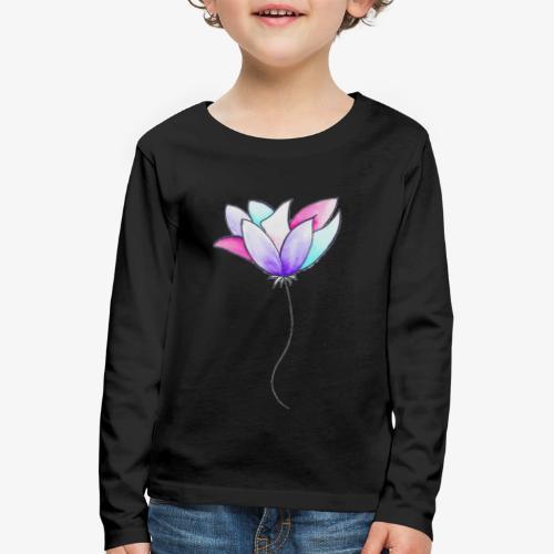 Fleur - T-shirt manches longues Premium Enfant