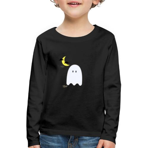 VHP Ghost & Spider - Børne premium T-shirt med lange ærmer