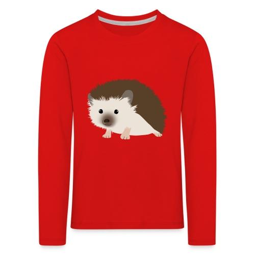Siili - Lasten premium pitkähihainen t-paita